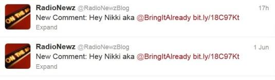 hey Nikki